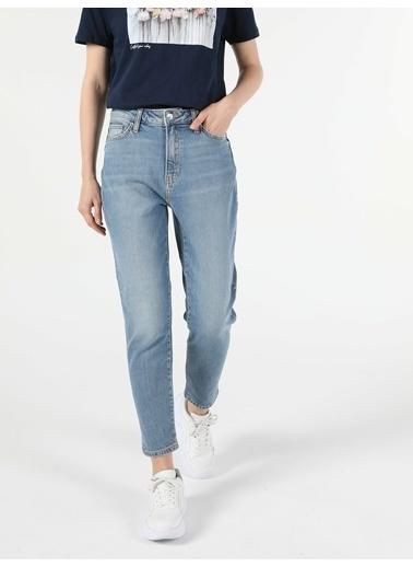 Colin's Denim Mom Fit Yüksek Bel 896 Marıa Denim Kadın Jean Pantolon Renkli